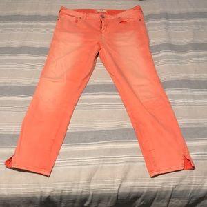 Free People Capri stretch jeans